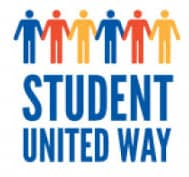 Student United Way holding hands logo